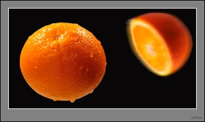 naranja entera